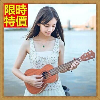 ★烏克麗麗ukulele-21吋桃花心木合板夏威夷吉他四弦琴弦樂器2款69x3【獨家進口】【米蘭精品】