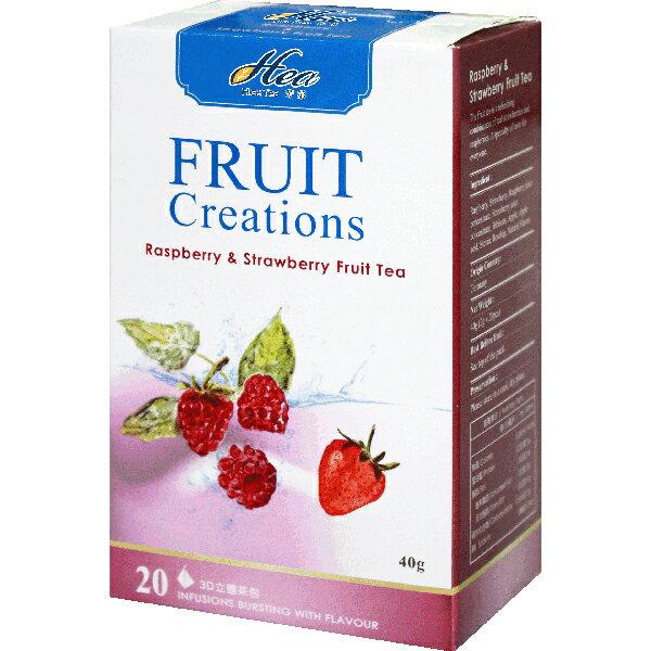 芳第《High Tea》水果草本茶-覆盆子草莓 2g*20入/盒