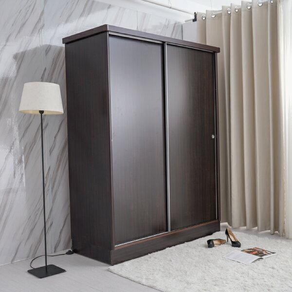 衣櫃【YUDA】美化4*7尺 六分木心板 拉門 / 推門 衣櫥 / 衣櫃 (不含內鏡 可加購) 新竹以北免運 2