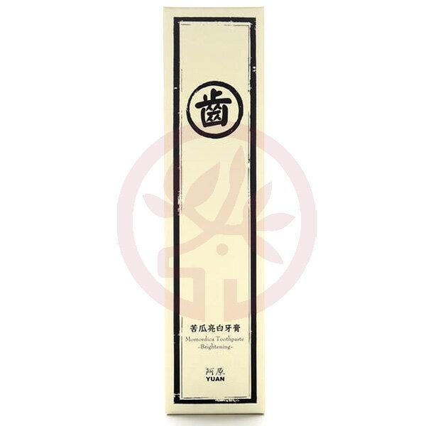 阿原肥皂 苦瓜亮白牙膏(75g)x1
