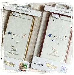 【奧地利水鑽】iPhone 6 Plus /6s Plus (5.5吋) 星座系列電鍍彩鑽保護軟套(魔羯座)