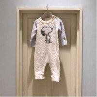 史努比Snoopy商品推薦,史努比上衣推薦到Gelato Pique同款寶寶包屁衣可愛史努比連身衣爬服♥寶兒私櫥♥【17G122704】