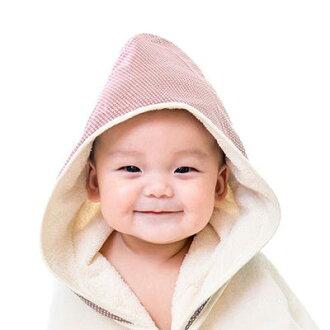 nizio 小蘑菇天然棉紗浴巾-粉紅點點【悅兒園婦幼生活館】