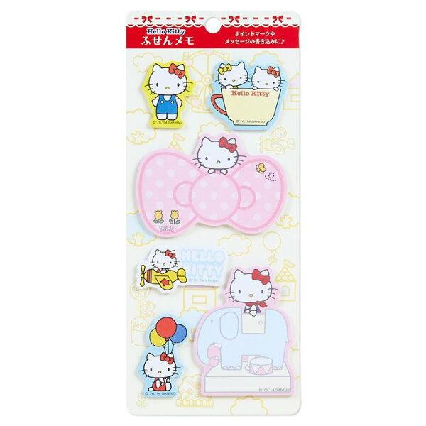 【真愛日本】14041600012造型便利貼-KT大象三麗鷗凱蒂貓KITTY大象便利貼紙製品便條紙文具