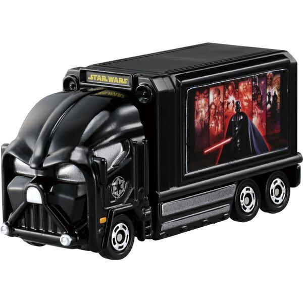 【真愛日本】16051200036TOMY車-黑武士貨櫃車    迪士尼 星際寶貝 史迪奇  小車 收藏 擺飾