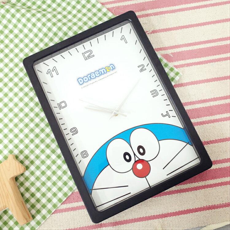 PGS7 日本卡通系列商品 - 小叮噹 哆啦A夢 Doraemon 長型 時鐘 掛鐘 壁鐘【SFB7278】