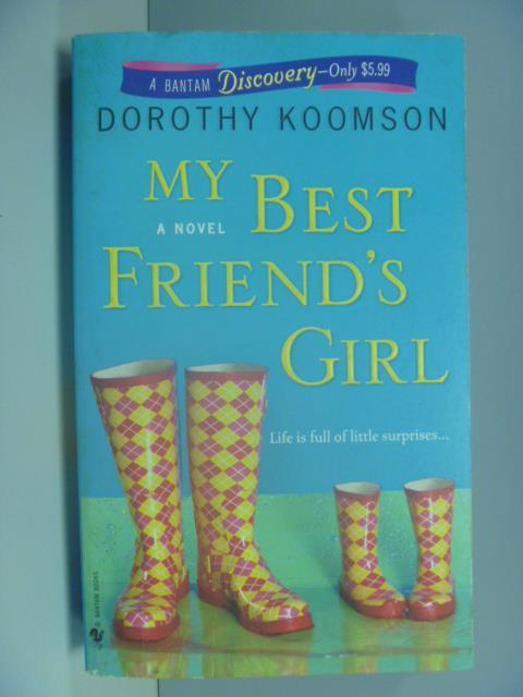 【書寶二手書T1/原文小說_ISL】My Best Friend's Girl_Koomson, Dorothy