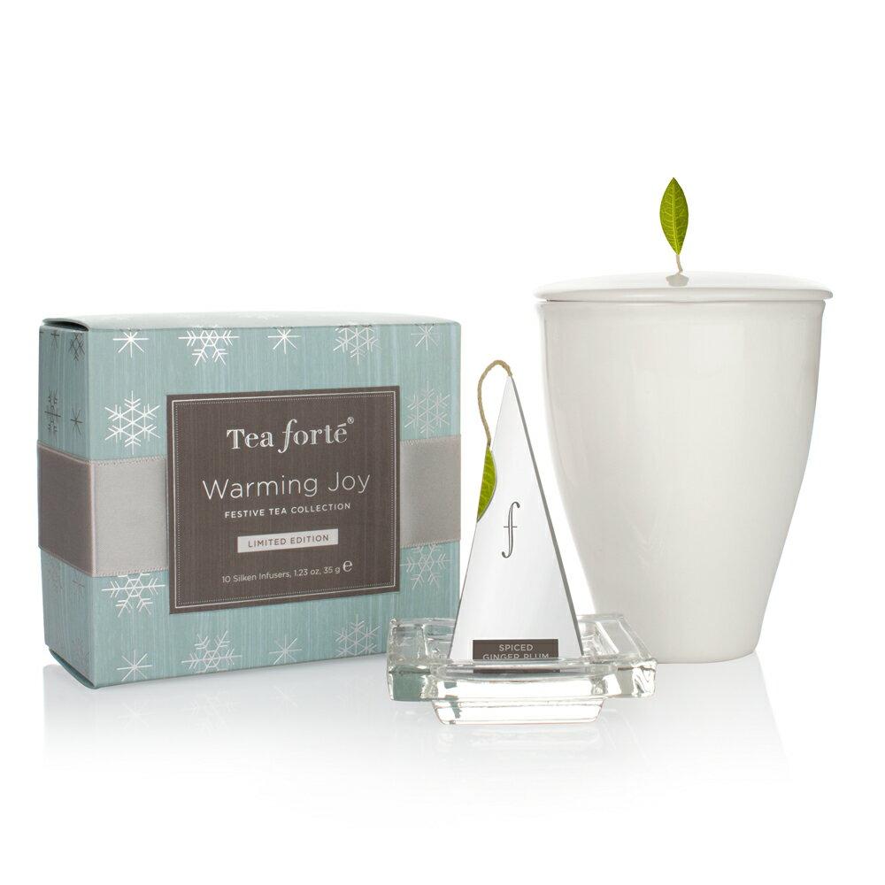Tea Forte 冬季戀曲 茶具茶品禮盒 Warming Joy Gift Set 3