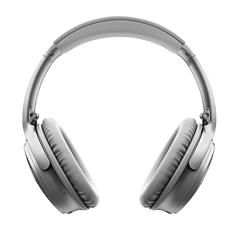 0ce1fce84d2 Bose QuietComfort 35 QC35 (Series I) Wireless Bluetooth Headphones – Silver  0
