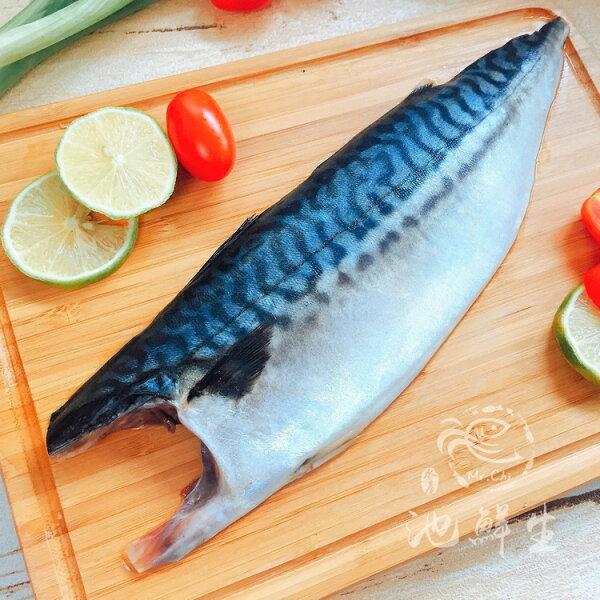 【池鮮生】鮮嫩厚切挪威薄鹽鯖魚片  (190g±10%/片)