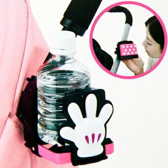 日貨TAKARA TOMY 正版米妮嬰兒車用飲料架 學習杯 架 推車置物架 迪士尼【N201110】