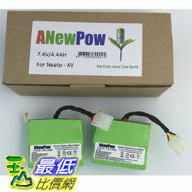 [免運費 玉山最低比價網] Neato XV系列 4400mAh 機器人吸塵器 專用鋰電池 (APNX11_TA2)