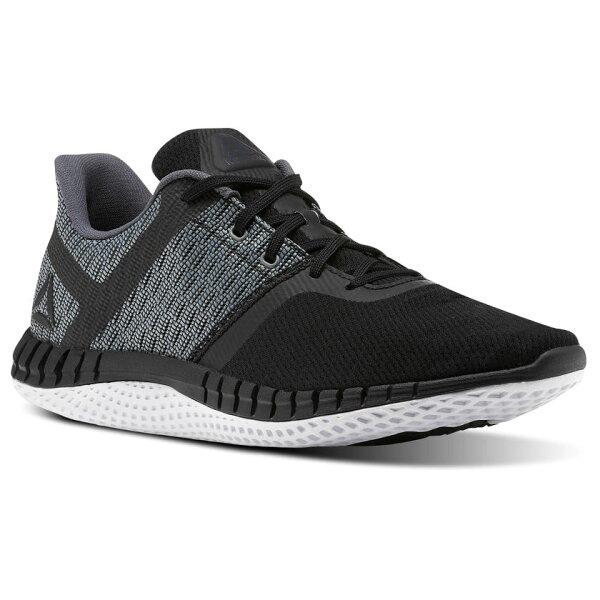 REEBOKPRINTRUNNEXT男鞋慢跑健身訓練網布耐磨穩定透氣舒適黑灰【運動世界】CN0420