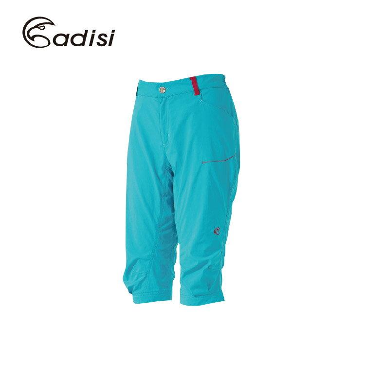 ADISI 女彈性快乾休閒七分褲AP1611016 (S~3XL) / 城市綠洲專賣(吸汗快乾,彈性舒適)