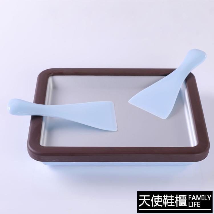 炒冰機 炒冰機家用小型兒童炒冰盤炒酸奶機冰淇淋沙冰可卷不插電【免運】