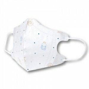 KUKU 酷咕鴨 3D超立體口罩-兒童專用 5入