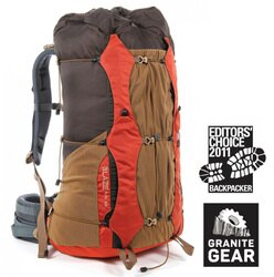 【Granite gear 美國】BLAZE A.C. 60 專業輕量強韌登山包 登山背包 橘色 (6061731121)