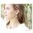 日本CREAM DOT  /  ピアス ドロップ ニッケルフリー 低アレルギー素材 ヴィンテージ調 加工 揺れる メタル マット ゴールド シルバー アクセサリー 上品 シンプル デイリー 女性 大人 レディース  /  qc0403  /  日本必買 日本樂天直送(1290) 4