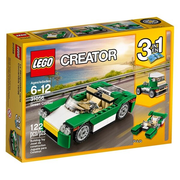 樂高積木LEGO《 LT31056 》2017年Creator 創意大師系列 - 綠色跑車