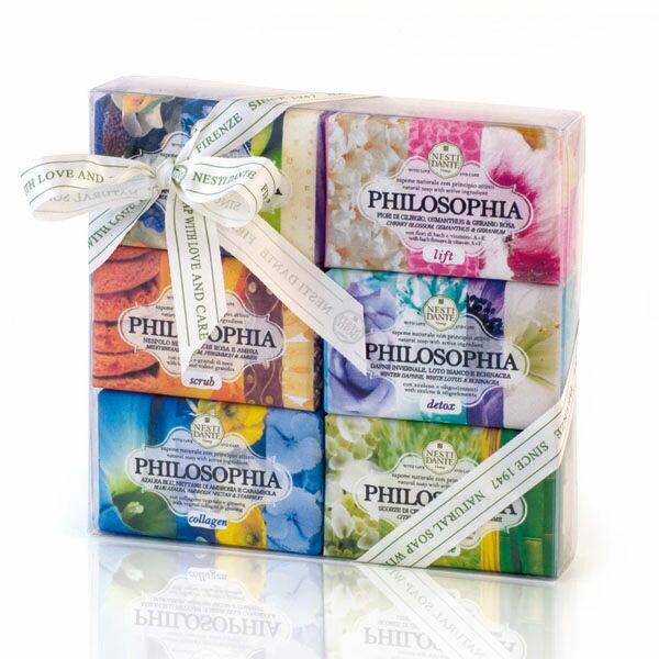 Nesti Dante 義大利手工皂 時尚能量禮盒 150gX6入 贈小香皂【A002165】《BEAULY倍莉》