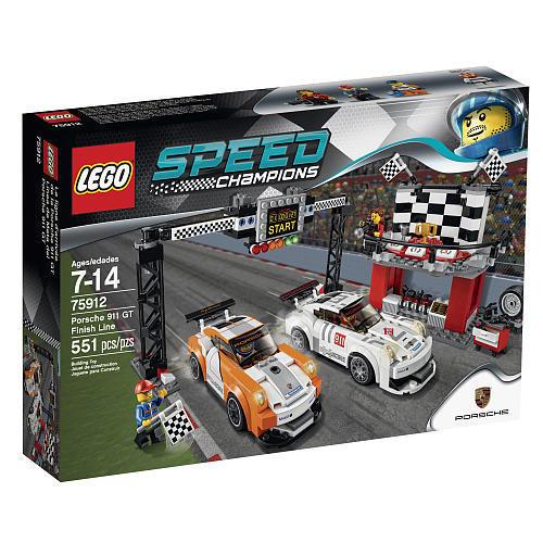 【瞎買天x現貨免運】樂高 LEGO 保時捷 911 GT 終點線 75912【TYLEAA04】