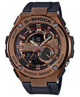 CASIO G-SHOCK GST-210B-4A分層構造絕對強悍雙顯腕錶/52.4mm