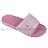 Shoestw【923250266】CHAMPION 拖鞋 運動拖鞋 粉白方框 女生尺寸 0