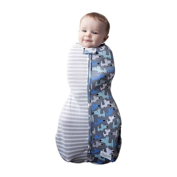 美國 Woombie 寶寶好眠成長包巾 0-18(9款可選) _好窩生活節 5