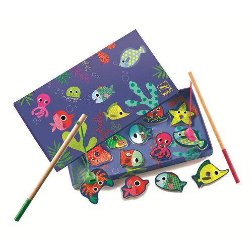 ~衛立兒 館~智荷 DJECO 釣魚遊戲~彩色磁鐵釣魚組 DJ01653