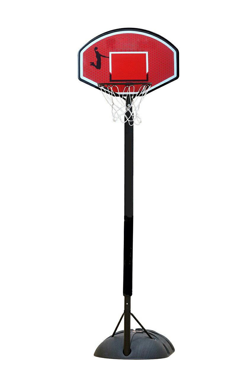 高低可調活動式兒童成長籃球架(6~12歲)