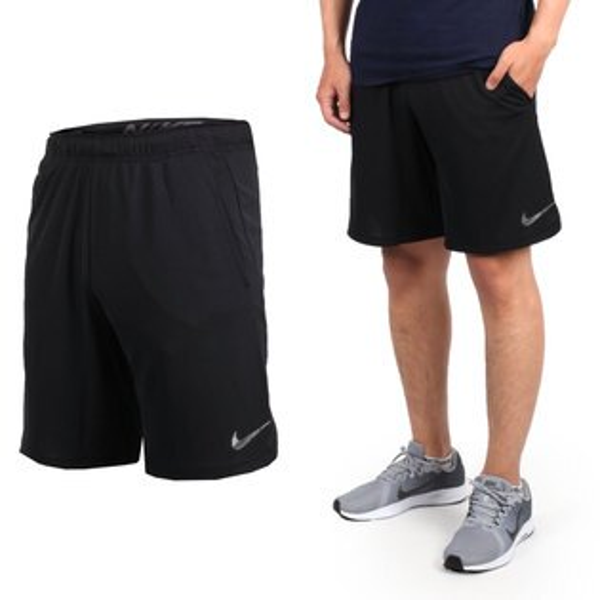 NIKE男子針織短褲(慢跑路跑【04351422】≡排汗專家≡