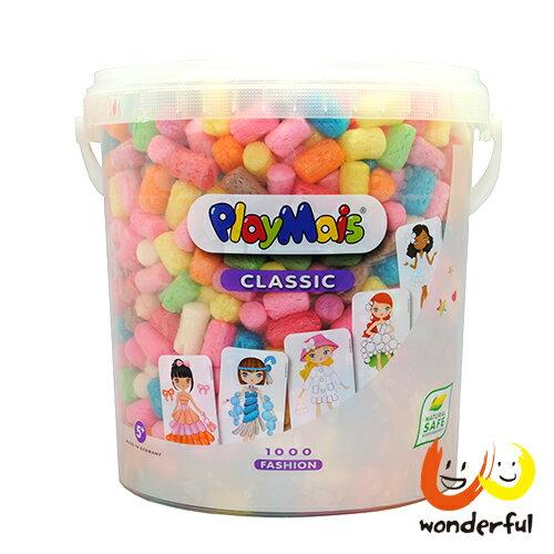 Playmais 玩玉米創意黏土粉彩超值桶