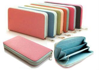【橘子包舖G0711】韓國FROMb.新款女長款錢包包.真皮大容量拉鍊長夾手機