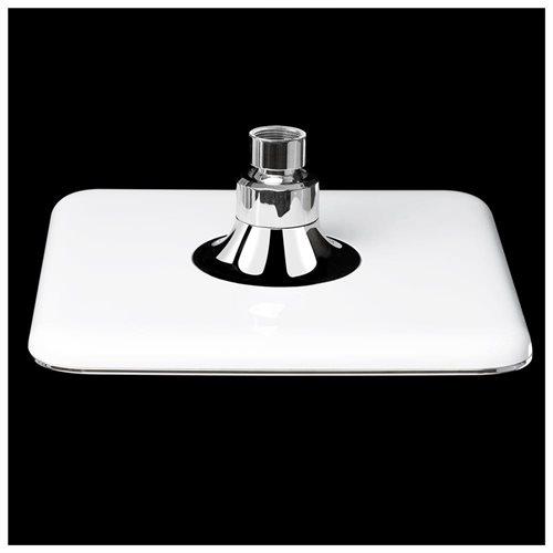 "8"" rainfall shower head Square Water Saving Contemporary Modern Home Bathroom Luxury Chrome AKSH0023 3"