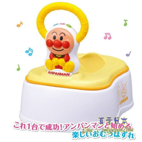 【真愛日本】16090600021兒童5WAY便座-ANP電視卡通麵包超人細菌人兒童玩具正品