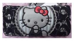 【Loungefly】Hello Kitty聯名款長夾- 印花仿皮LFSANWA0612《品文創》