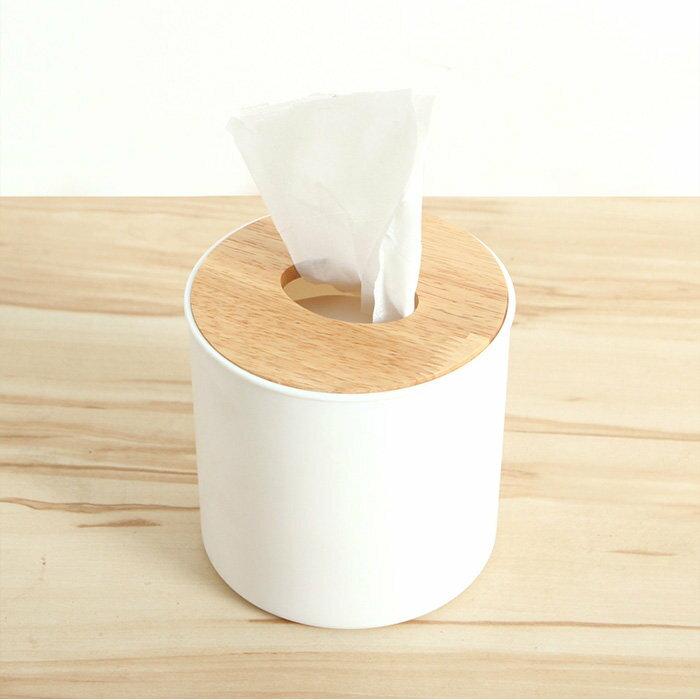 圓型木蓋餐巾紙盒 衛生紙盒【SV7492】快樂生活網