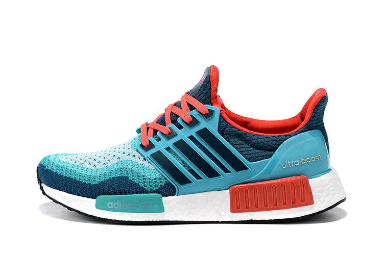 Adidas NMD Ultra Boost 橘藍 男款