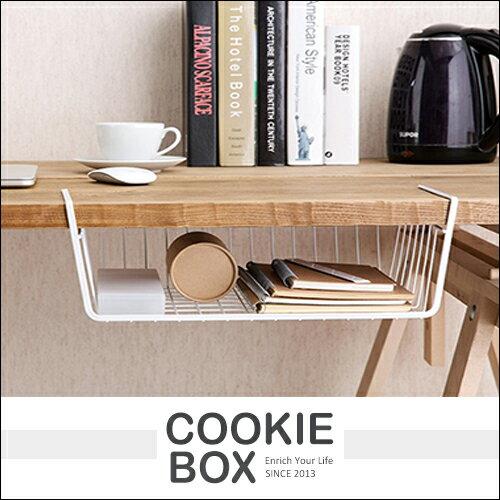 收納 置物架 挂架 挂籃 收納架 整理 隔層 壁櫃 儲物架 工業風 辦公室 廚房 居家 (隨機出貨) *餅乾盒子*
