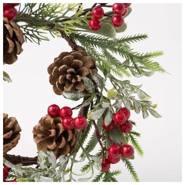 聖誕裝飾花圈 25cm RED RH02-17911 NITORI宜得利家居 3