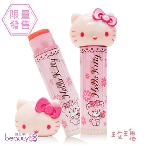 Hello kitty 嫩色潤唇膏