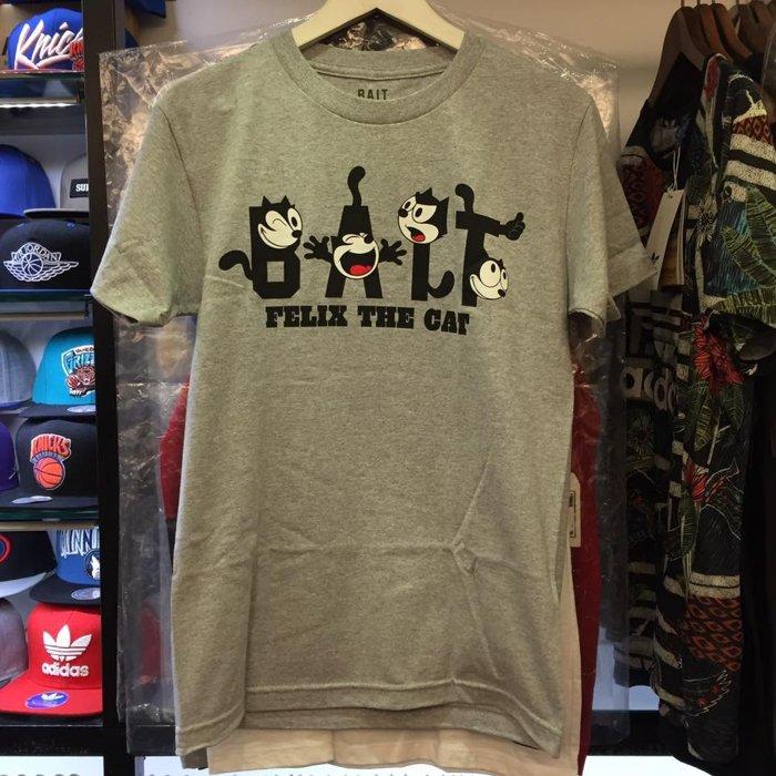 BEETLE BAIT FELIX THE CAT 菲力貓 全灰 文字 LOGO TEE T恤 聯名 - 限時優惠好康折扣