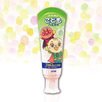 【Made in Japan】LION 獅王 Anpanman Kids' Toothpaste Melon