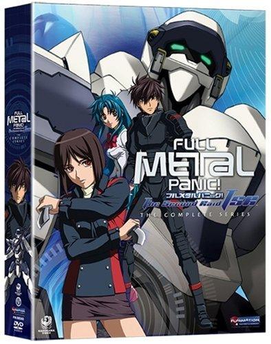 Full Metal Panic! The Second Raid Box Set 023acc9ead361059c2a1c3079ee7738f
