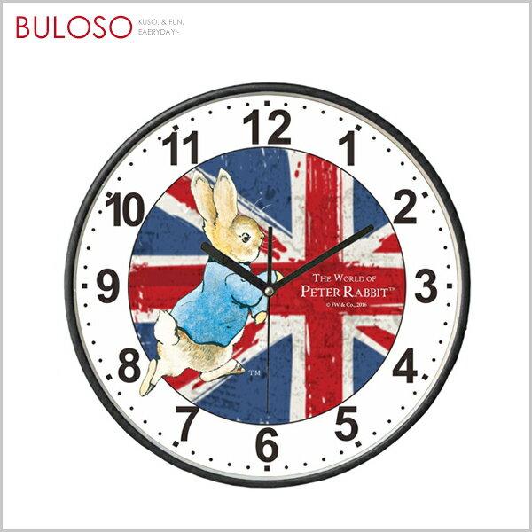 《不囉唆》比得兔英國風壁鐘-黑框原廠正版時鐘(不挑色款)【A425142】