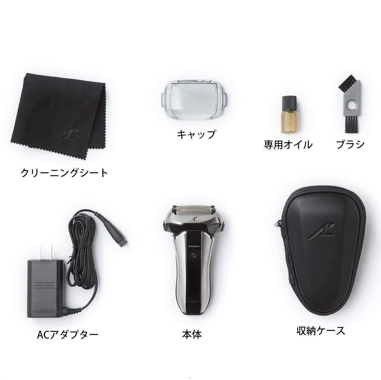 嘉頓國際 國際牌 PANASONIC 日本製【ES-CV70】三段電量顯示 五刀片  國際電壓 電鬍刀 水洗 6