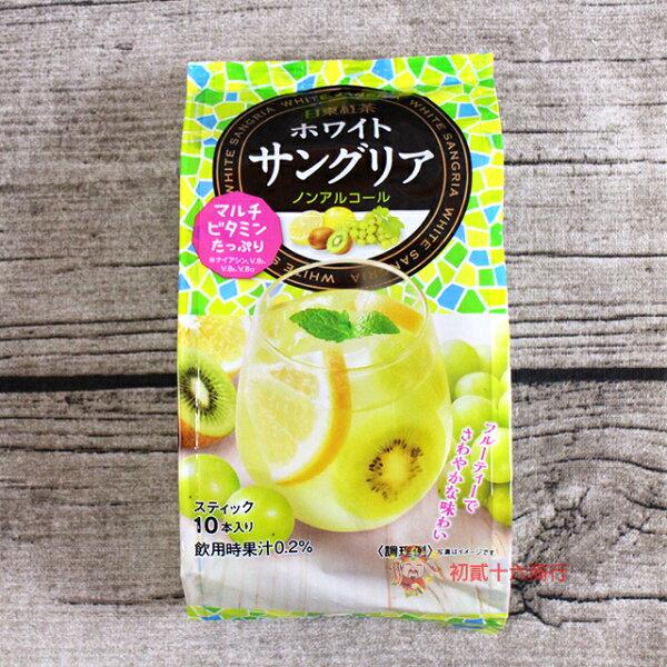 【0216零食會社】日本沖泡日東紅茶_水果茶粉(兩款)