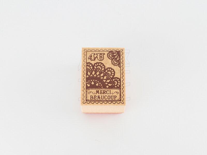 *小徑文化*日本進口手作雑貨 TOKYO ANTIQUE stamp - ドイリーの切手 ( B3525K1-D )