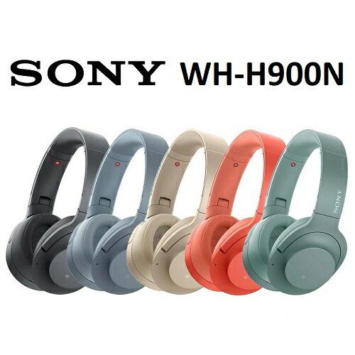 【免運費】SONY WH-H900N Hi-Res 無線藍牙降噪耳罩式耳機 (公司貨)