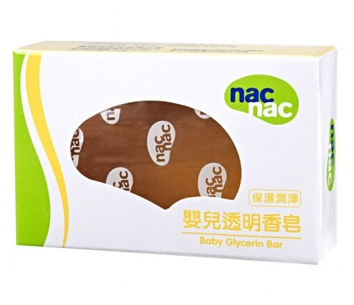 『121婦嬰用品館』nac 嬰兒透明香皂75g